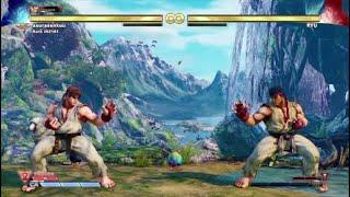 Visual Soundtracks - Street Fighter V - Ryu Theme (Ghost and Goblins) Extra battle Unlock