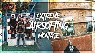 EXTREME AIRSOFTING MONTAGE!! (Hollywood Sports Park)