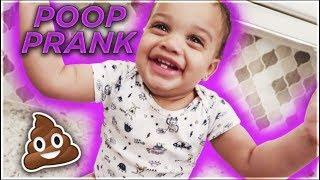 POOP PRANK ON DAD GONE WRONG!! HE GETS EXTREMELY EMOTIONAL **he freaked out**????????
