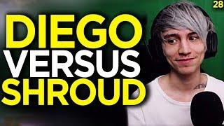 #1 Kills Diegosaurs VS Best Aimer Shroud, Who Won?! - Apex Legends Funny Moments 28
