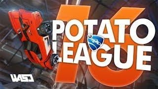 POTATO LEAGUE #16 | Rocket League Funny Moments & Fails