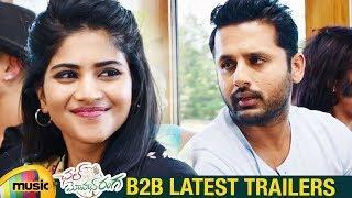 Chal Mohan Ranga Back 2 Back Latest Trailers   Nithiin   Megha Akash   Pawan Kalyan   Mango Music