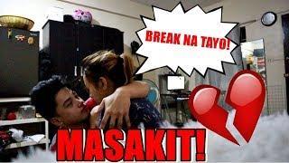BREAK UP PRANK!! (GRABE ANG IYAK KO!!)