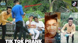 TIK TOK PRANK ON CUTE GIRLS || PRANK IN INDIA || #TikTokIndia | Ft. SAGAR GOSWAMI | BY - MOUZ PRANK