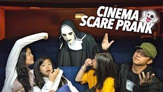 Cinema Scare Prank On Siblings | Ranz and Niana