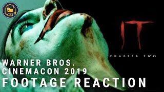 Joker Trailer Reaction, IT: Chapter 2 First Look Reaction & More | CinemaCon 2019 WB Panel Breakdown