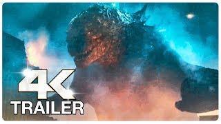 GODZILLA KING OF THE MONSTERS : 7 Minute Trailers (4K ULTRA HD) NEW 2019   Godzilla 2