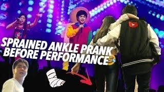 Sprained Ankle Prank (YTFFPH) | Ranz and Niana