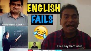 When Desis Give Job Interview in English | Funny English Fails