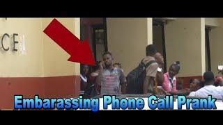 Embarrassing Phone Calls In Public Prank | Jamaican Edition