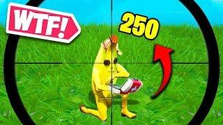 HE SURVIVED 250 HEADSHOT DMG?! - Fortnite Funny Fails and WTF Moments! #537