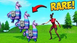 *SUPER RARE* 3 LLAMAS IN 1 SPOT!! - Fortnite Funny Fails and WTF Moments! #583