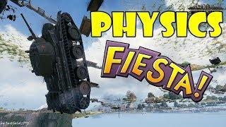 World of Tanks - Funny Moments | PHYSICS FIESTA! (WoT Bugs, May 2018)