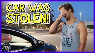 STOLEN CAR PRANK! HE GOT MAD!