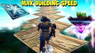 Max Speed Building With Chiller Trap...! | Fortnite Twitch Funny Moments #203