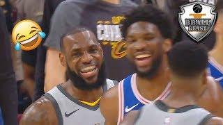 """NBA """"BLOOPERS AND FUNNY"""" Moments 2018"""