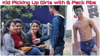Kid Proposing Girls With 6 Pack Abs |Prank in India| Gone Romantic|FunkyTv|