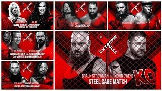 WWE Extreme Rules 2018 Full Results Predictions