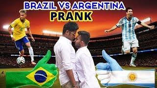 Brazil VS Argentina Prank Video l FootBall WorldCup Special Prank Video | Jony TheNaughtyBoy
