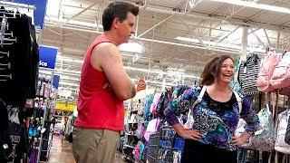 Prank Video Turns To Prayer for Lady at Walmart - THE POOTER