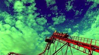 Roller coaster and my legs were shaking. extreme sport/Американские горки, ноги затряслись. экстрим