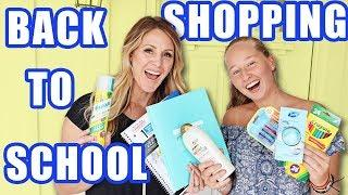 EXCHANGE STUDENT goes BACK TO SCHOOL SHOPPING IN AMERICA (funny vidoes)