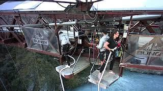 Bungy jump at Queenstown AJ HACKETT ,New zealand, Kawarau Gorge,Extreme sports