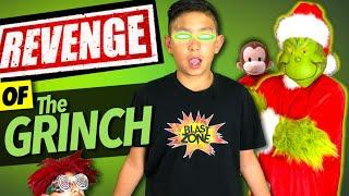 Revenge of the Grinch | Funny Movie Spoof & Beyblade Games