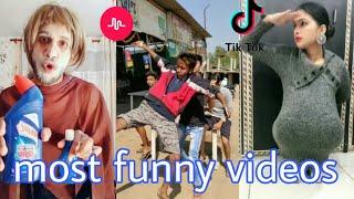 Most funny videos in musically tik tok #vigo video India Hindi comedy HD