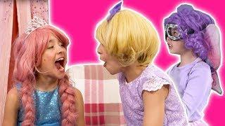 PRINCESS OLIVIA'S TOOTH FELL OUT! ???? Tooth Fairy Prank - Princesses In Real Life | Kiddyzuzaa