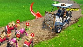 THE FUNNIEST RESCUE MISSION IN FORTNITE BATTLE ROYALE | FORTNITE FUNNY FAILS & SAVAGE MOMENTS #98