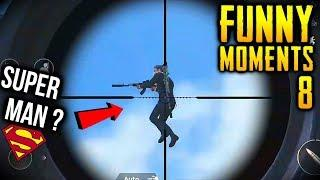 PUBG MOBILE | NEW FUNNY & EPIC & WTF MOMENTS #8 | PUBG MOBILE BEST GAMEPLAY, BUG & GLITCH MOMENTS