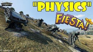 World of Tanks - Funny Moments | PHYSICS FIESTA! (April 2018)