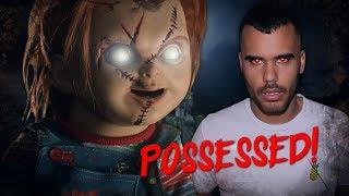POSSESSED CHUCKY DOLL PRANK AT 3AM