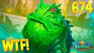HEARTHSTONE Best Daily FUNNY and WTF Moments 674!