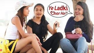 Annu Singh: Bag Chori Prank On Cute Girl | Ex Boyfriend Prank: part 4 | Prank In Mumbai | {BRbhai}