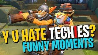 Why Do People Hate Techies? - DotA 2 Funny Moments