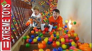 Nerf module battle! nerf video for children! Ethan Vs Cole Nerf Battle! HD  Ep: 278