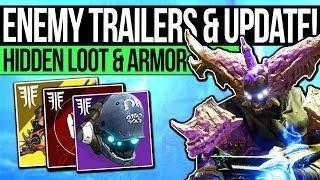 Destiny 2 | NEW BARON TRAILERS & REWARDS! Scatterhorn Armor, Hidden Loot, Power Upgrades & End Game!