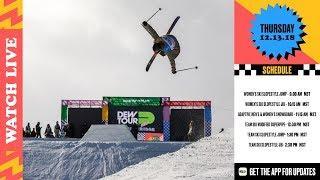 Ski Team Challenge Finals, Women's Ski Finals, Snowboard Adaptive | 2018 Dewtour Day 1 Live Webcast