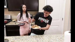 YOU CANT COOK PRANK ON HALI!!