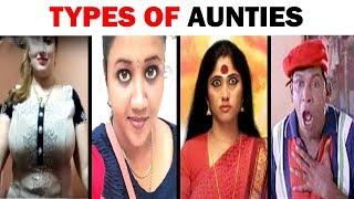 TYPES OF AUNTIES TROLL | EPISODE 1 | TYPES OF SERIES | MADRAS PRANK