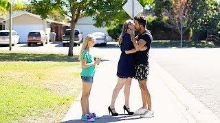 Kissing Prank - Fan Moms Edition