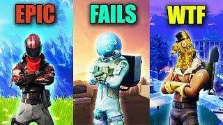 EPIC vs FAILS vs WTF in Fortnite Battle Royale! (Fortnite Funny Fails and Best Moments) #18