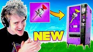NINJA FINDS A *RARE* STICKY GRENADE! (Epic Clinger Plays) Fortnite Funny Fails & Daily Best Moments!