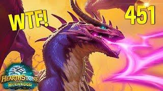 Hearthstone Daily WTF Funny Moments 451! Lucky and Epic Plays!