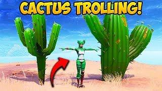 *NEW* CACTUS SKIN TROLLING! - Fortnite Funny Fails and WTF Moments! #517