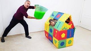 SHOCK IN GAME HOUSE SLIME PRANK, Ayşe Be Held