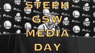 """Steph Curry on Media Day: """"extreme opportunity to create a dope story"""" at Oracle's last season"""