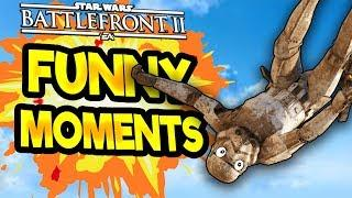 Star Wars Battlefront 2 Funny & Random Moments [FUNTAGE] #25  -  Darth Plagueis The Wise